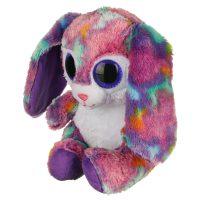 عروسک خرگوش چشم تیلهای گوش دراز