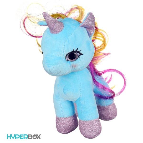 عروسک اسب پونی چشم تیلهای
