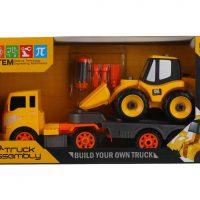 اسباب بازی تریلی ماشینبر تعمیراتی