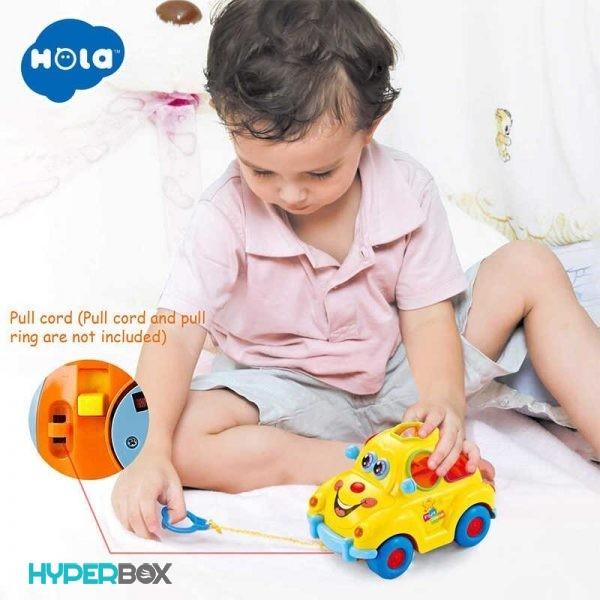 اسباب بازی ماشین میوهای هولا تویز