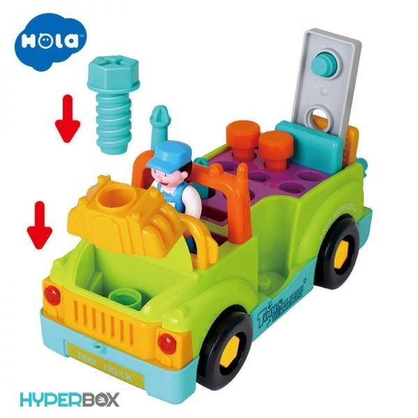 اسباب بازی ماشین ابزار هولا تویز
