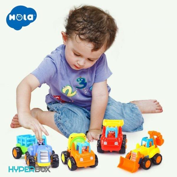 اسباب بازی وسایل نقلیه ساختمانی هولا تویز
