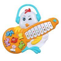 اسباب بازی مرغ پیانو دار