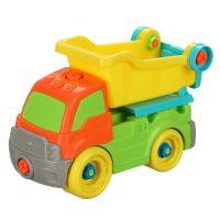 اسباب بازی کامیون تعمیراتی رنگی