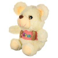 عروسک خرس دخترپسر چشم تیلهای