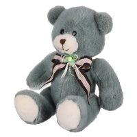 عروسک خرس پاپیون گلدار
