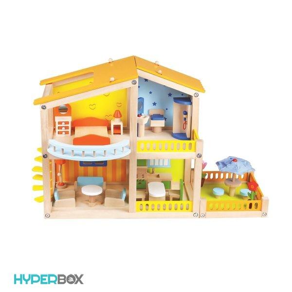 خانه چوبی Lelin
