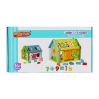 اسباب بازی خانه چوبی اعداد