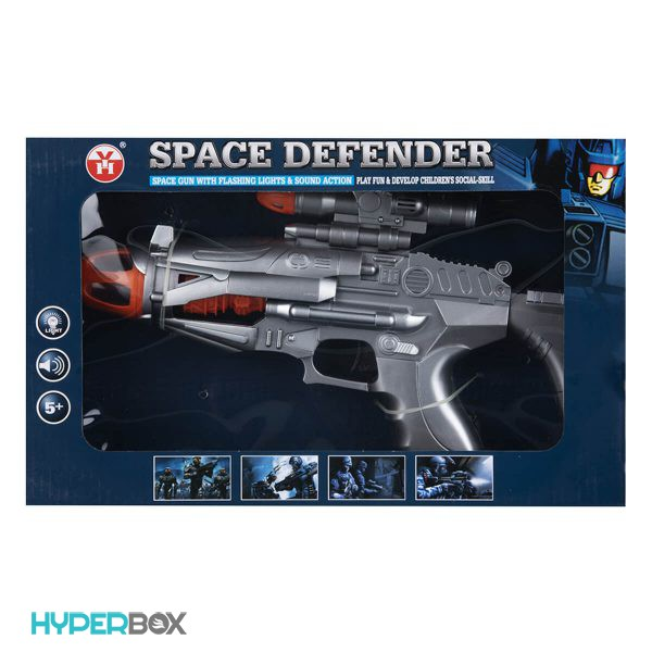 اسباب بازی اسلحه فضایی کوچک