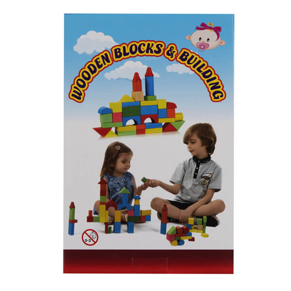 اسباب بازی ساختنی Wooden Blocks and Building