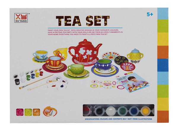اسباب بازی ست چای خوری نقاشی بزرگ