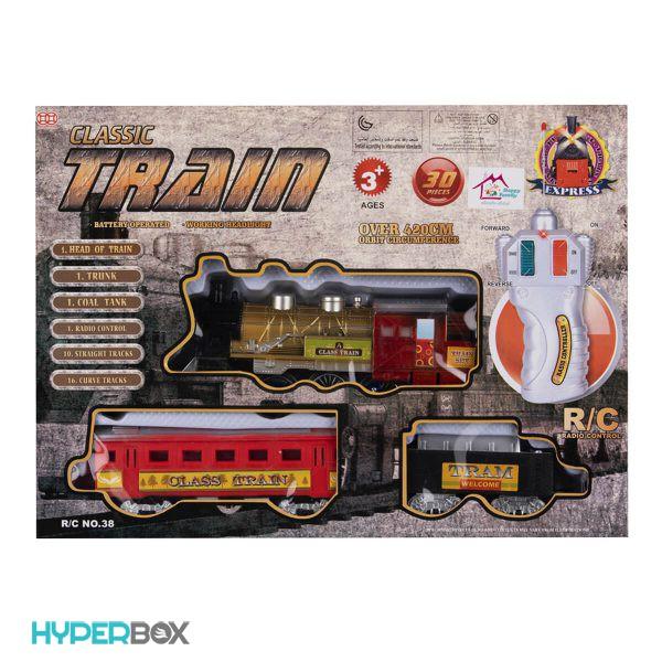 اسباب بازی قطار کلاسیک ریموت دار