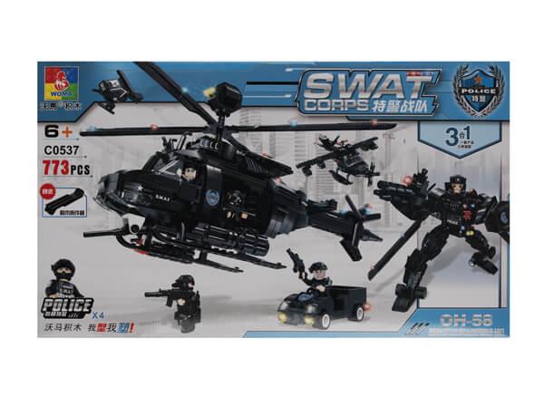 اسباب بازی لگوی هلیکوپتر جنگی