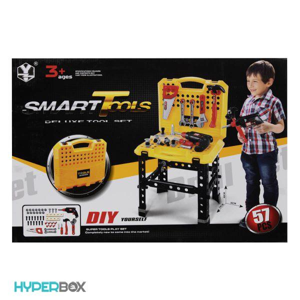 اسباب بازی ست میز ابزار Smart Tools