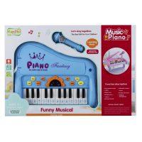 اسباب بازی پیانوی میکروفون دار
