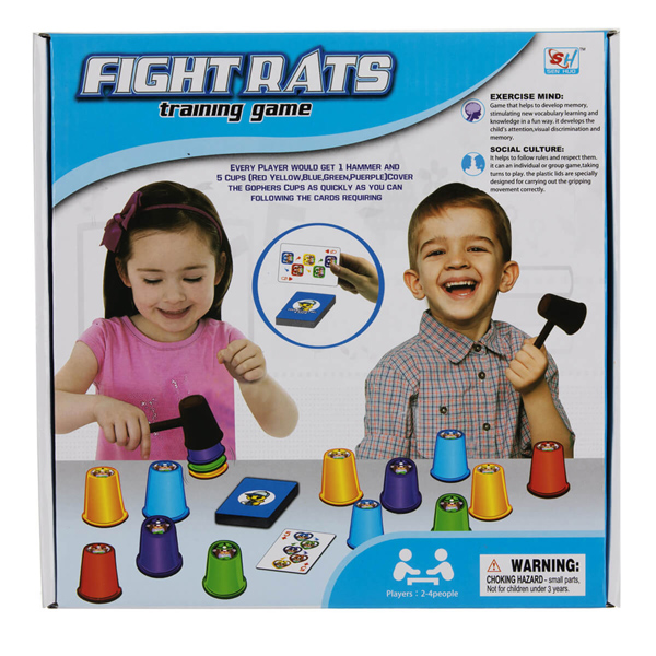 بازی فکری Fight Rats
