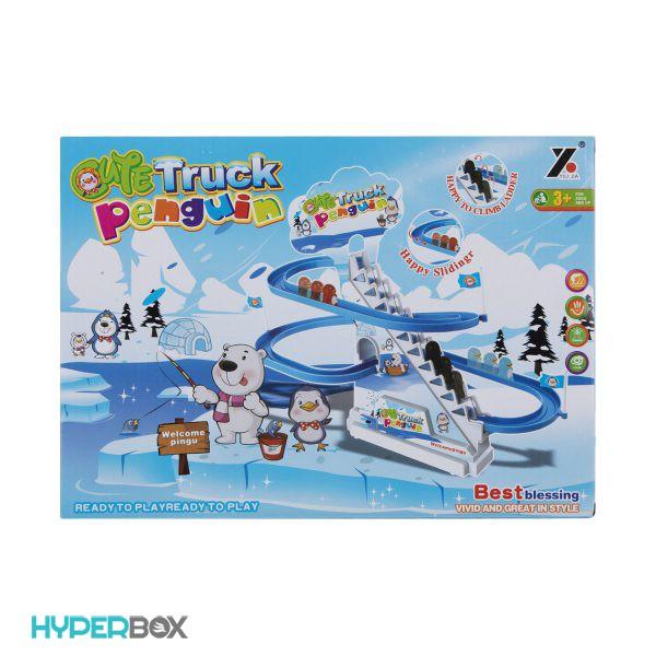 اسباب بازی سرسره پنگوئن
