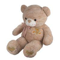 عروسک خرس تاج به سینه