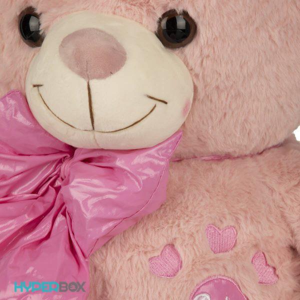 عروسک خرس پاپیون چرمی