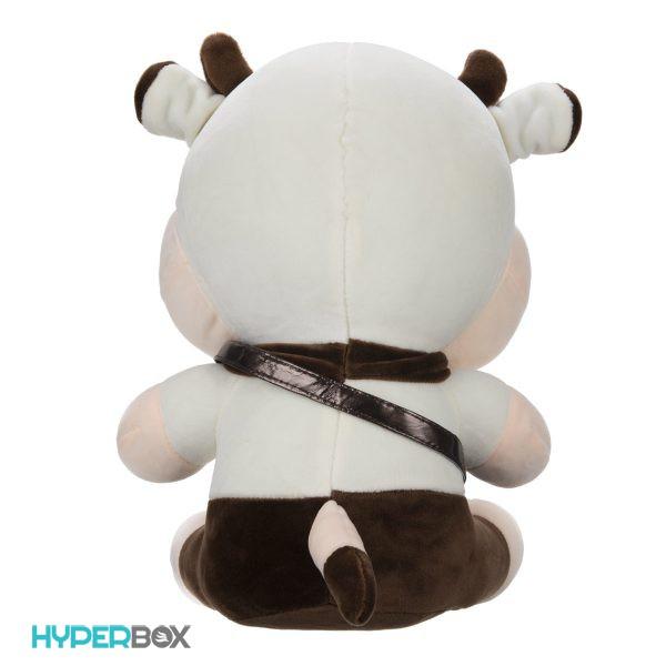 عروسک گاو کیف چرمی