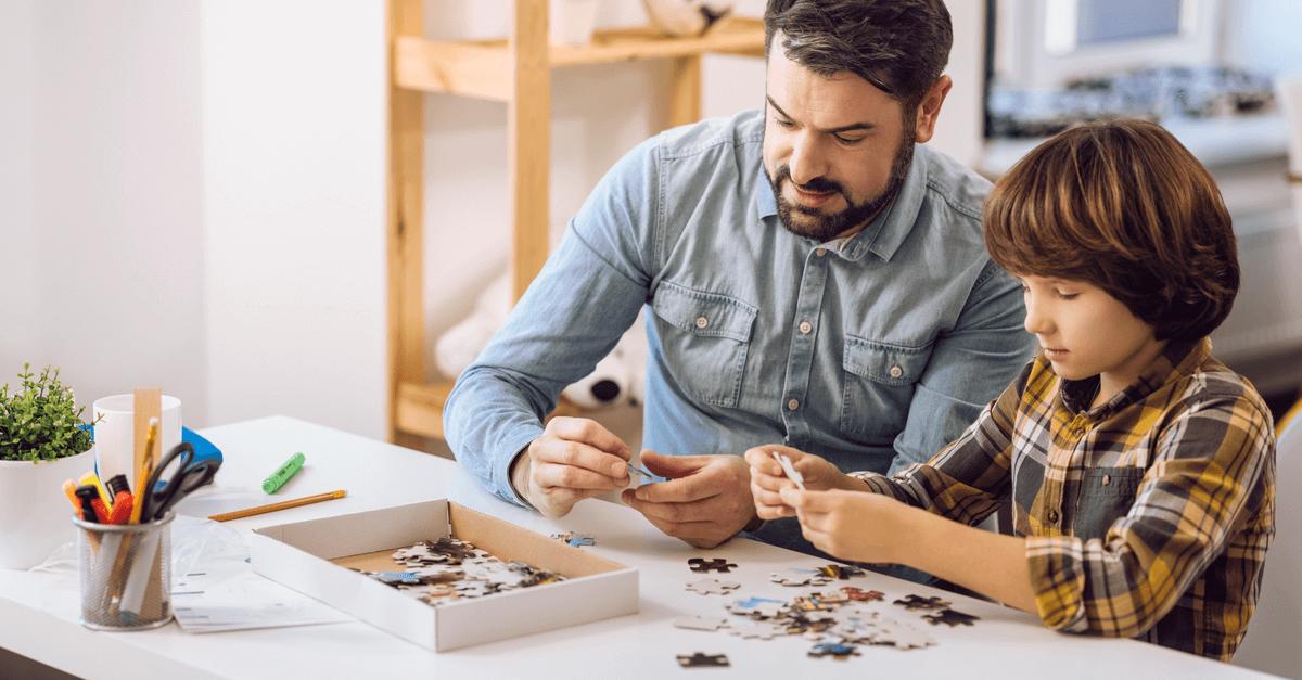 بازی با پازل برای کودکان و بزرگسالان