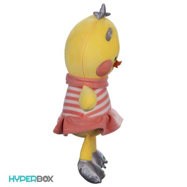 عروسک جوجه پیراهن راه راه