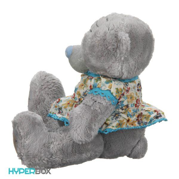 عروسک خرس می تو یو دختر کوچک