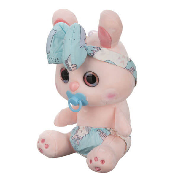 عروسک خرگوش پستونک دار