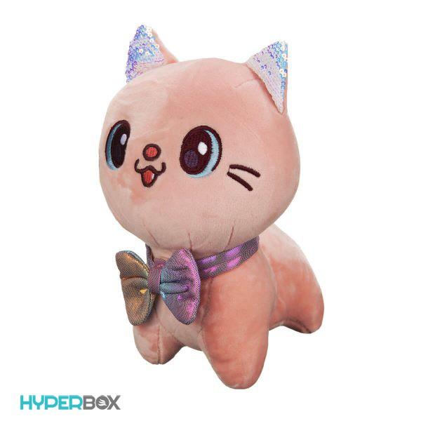عروسک گربه پاپیون براق