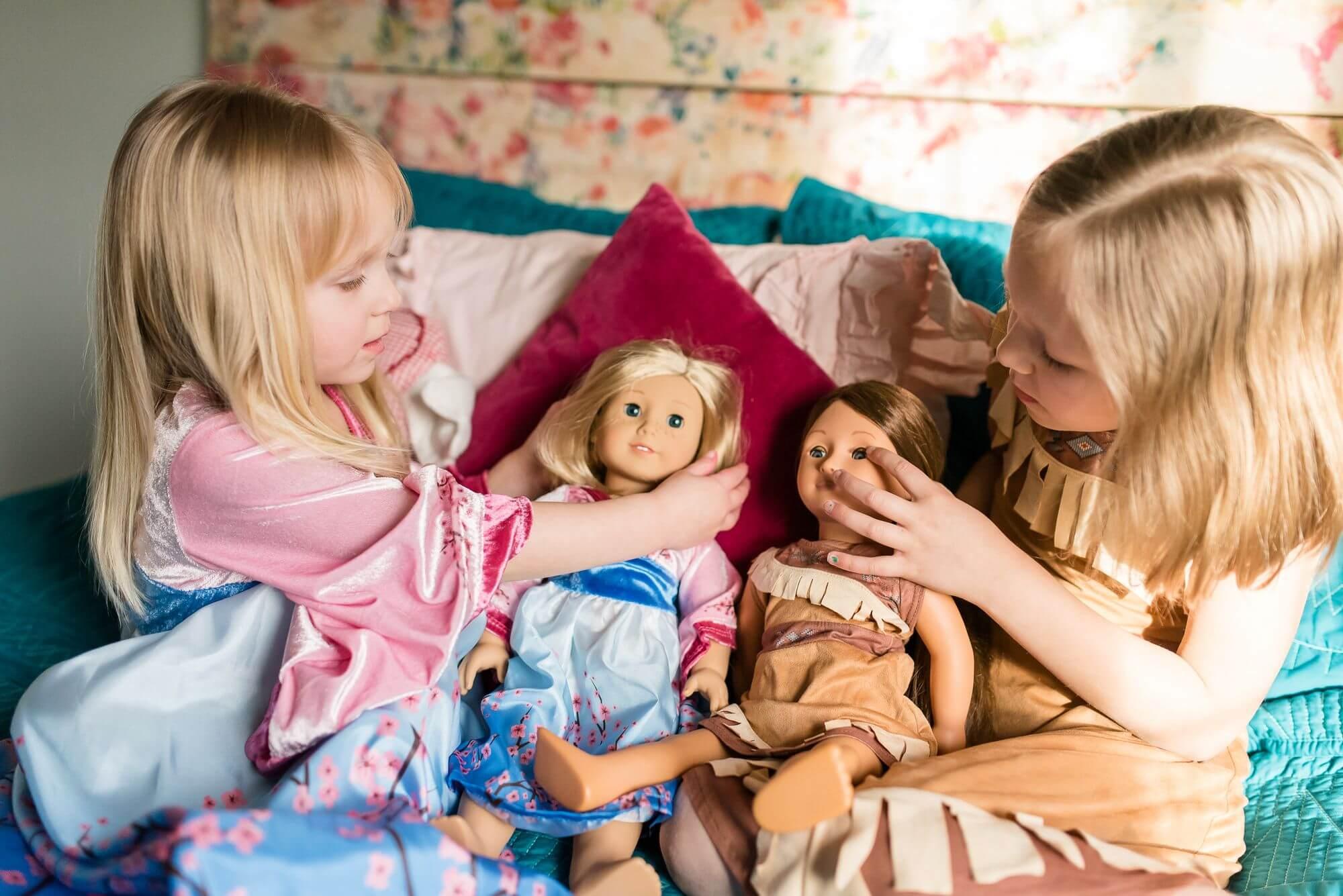 تاثیر بازی با عروسک در رشد کودک