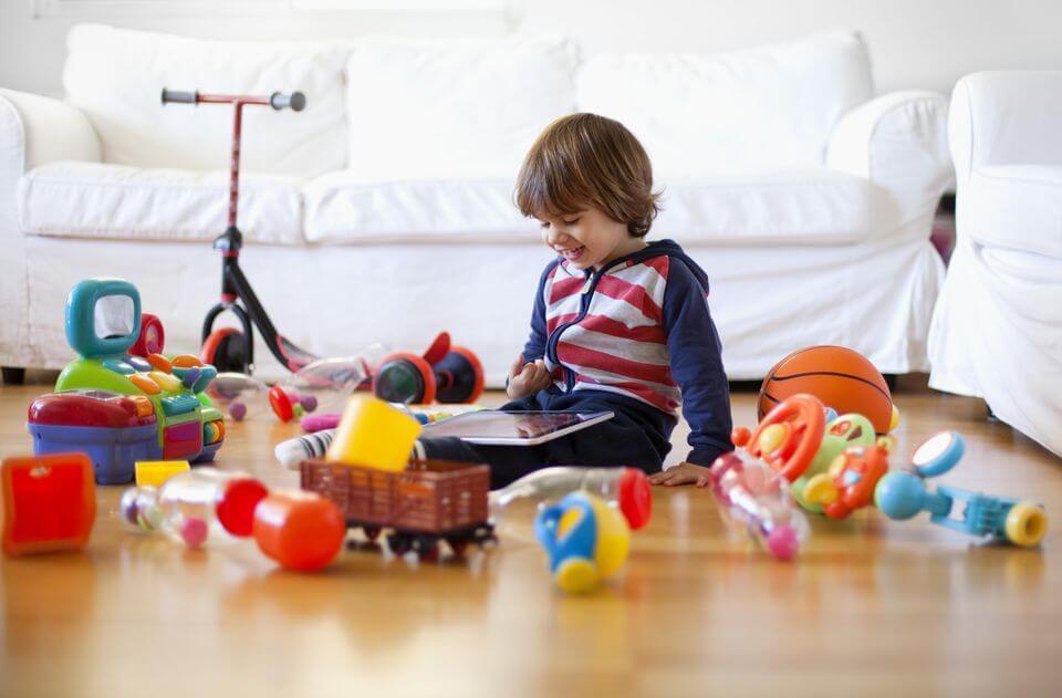 رابطه تعداد اسباب بازی با هوش کودکان