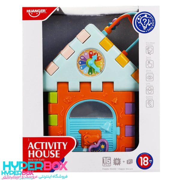 اسباب بازی خانه آموزشی
