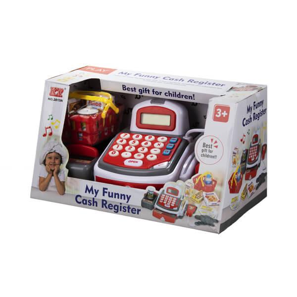 اسباب بازی صندوق فروشگاهی میکروفون دار