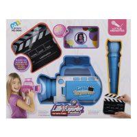 اسباب بازی دوربین فیلمبرداری خبرنگاری