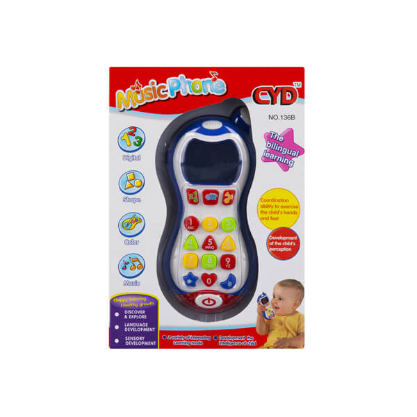 اسباب بازی موبایل موزیکال CYD
