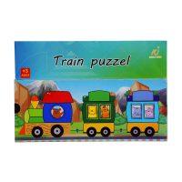 اسباب بازی پازل آموزشی قطاری