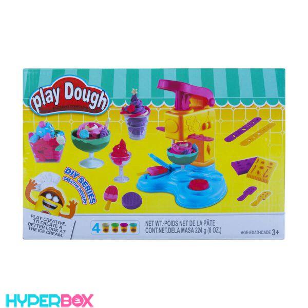 اسباب بازی ست بستنی سازی خمیری