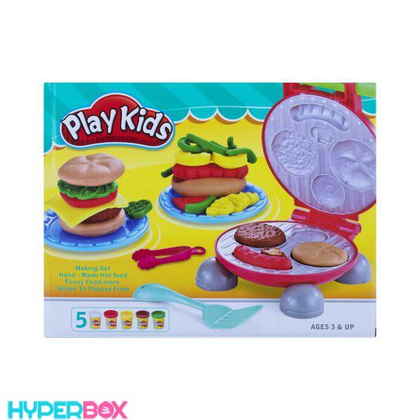 اسباب بازی ست خمیر بازی فست فود Play Kids