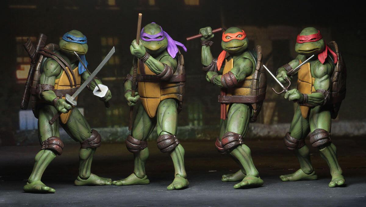 تاریخچه لاکپشت های نینجا