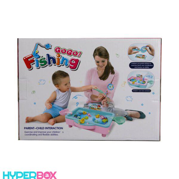 اسباب بازی ماهیگیری با آب Fishing GOGO
