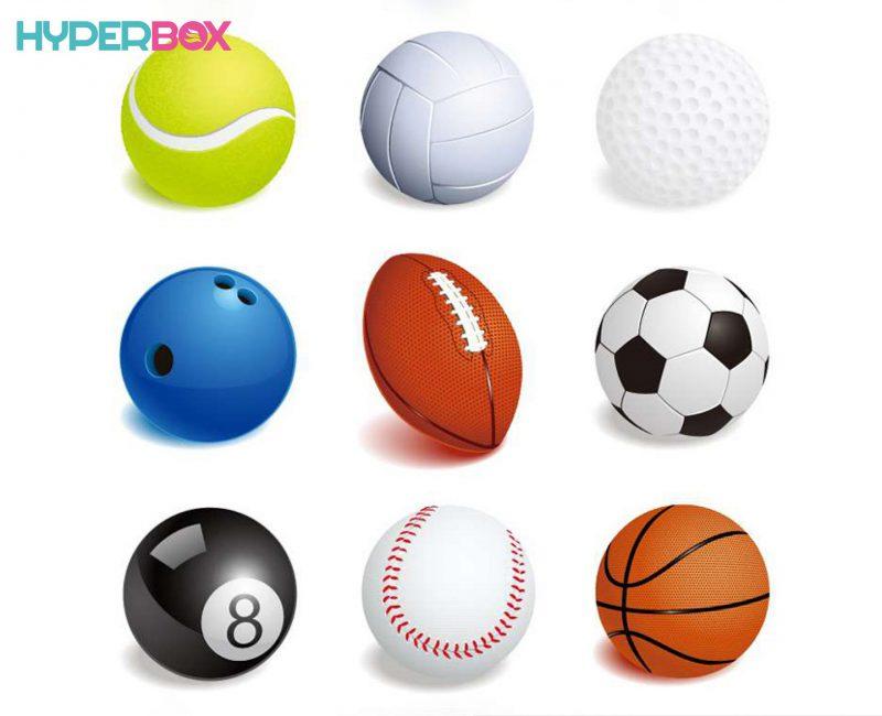 انواع توپ برای بازی در خانه